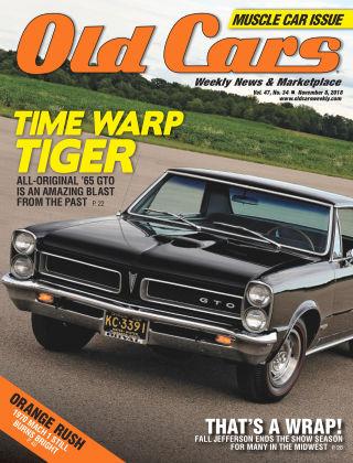 Old Cars Weekly Nov 8 2018