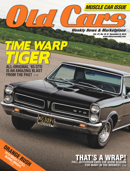 Old Cars Weekly October 31, 2018 00:00