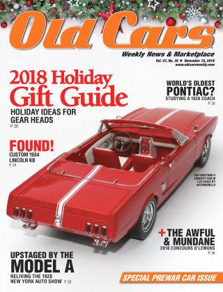 Old Cars Weekly Nov 15 2018