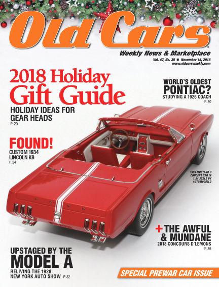 Old Cars Weekly November 07, 2018 00:00