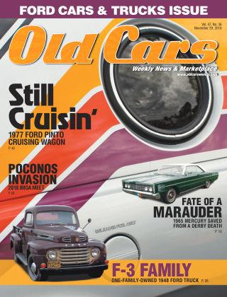 Old Cars Weekly Nov 29 2018