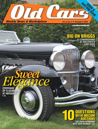 Old Cars Weekly Dec 6 2018