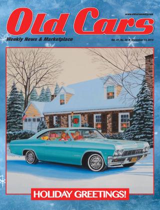 Old Cars Weekly Dec 13 2018