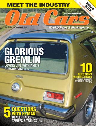 Old Cars Weekly Jan 3 2019