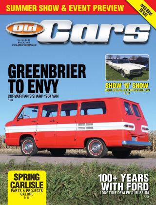 Old Cars Weekly May 30 2019