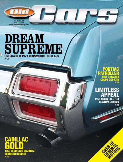 Old Cars Weekly May 29, 2019 00:00