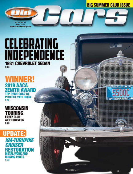 Old Cars Weekly June 19, 2019 00:00
