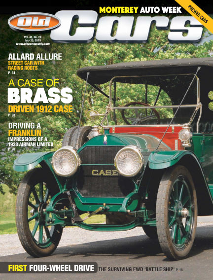 Old Cars Weekly July 10, 2019 00:00