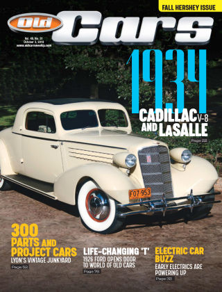 Old Cars Weekly Oct 3 2019
