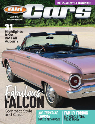 Old Cars Weekly Oct 17 2019
