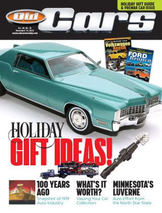 Old Cars Weekly Nov 14 2019