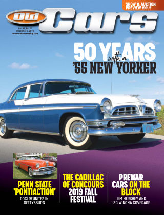 Old Cars Weekly Dec 5 2019