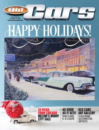 Old Cars Weekly Dec 12 2019