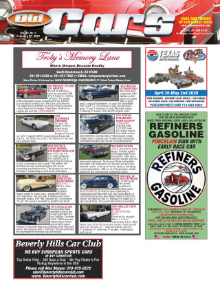 Old Cars Weekly February 20 2020