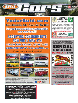 Old Cars Weekly March 19 2020