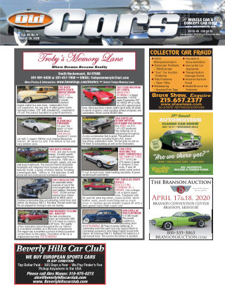 Old Cars Weekly March 26 2020