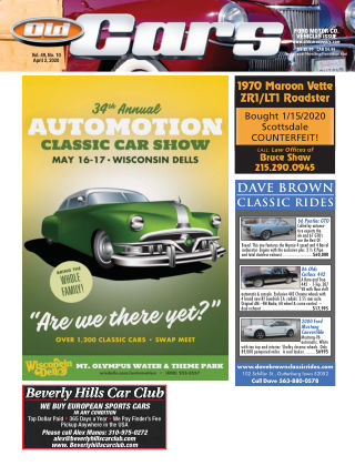 Old Cars Weekly April 2 2020