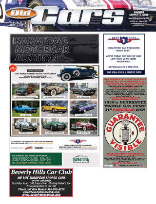 Old Cars Weekly August 13 2020