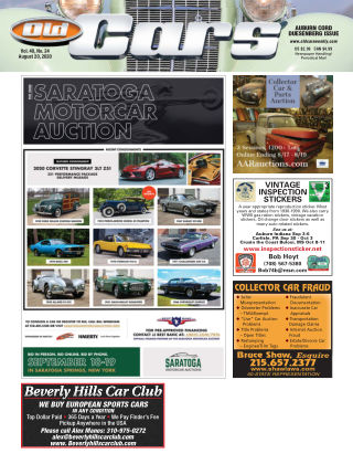 Old Cars Weekly August 20 2020