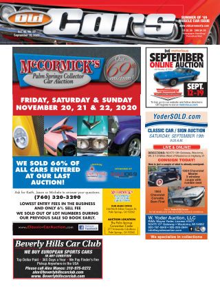 Old Cars Weekly September 10 2020