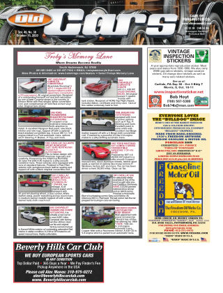 Old Cars Weekly October 15 2020