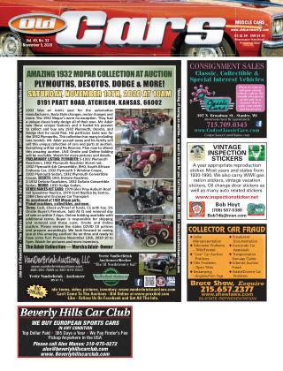 Old Cars Weekly November 5 2020