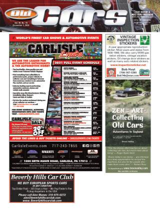 Old Cars Weekly December 3 2020