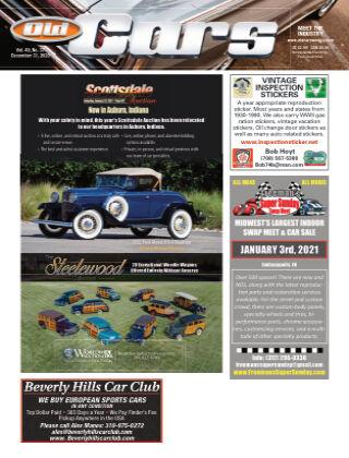 Old Cars Weekly December 31 2020