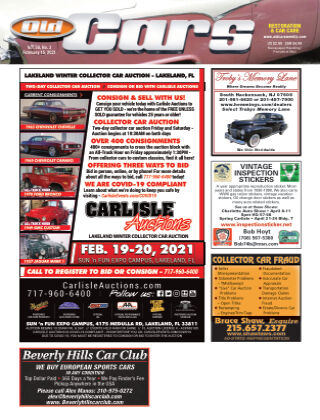 Old Cars Weekly February 15 2021
