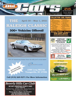 Old Cars Weekly April 1 2021