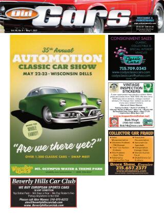 Old Cars Weekly May 1 2021