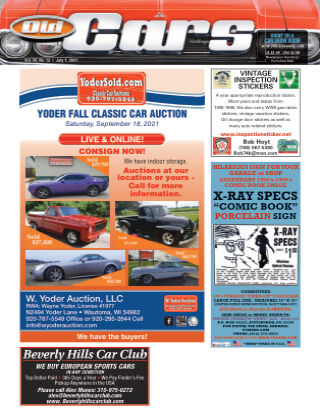 Old Cars Weekly July 1 2021