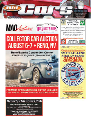 Old Cars Weekly August 1 2021