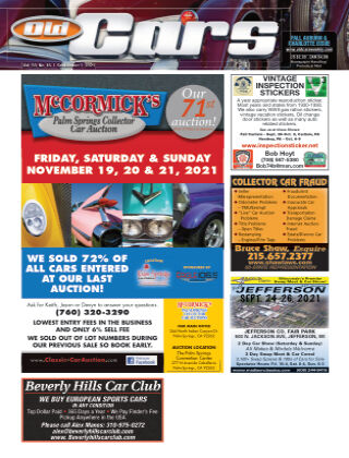 Old Cars Weekly September 1 2021