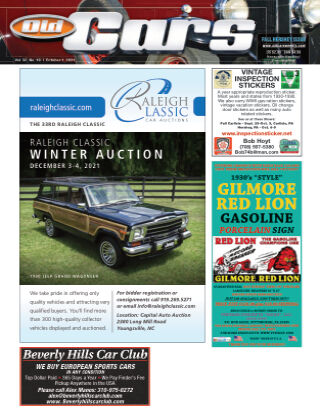 Old Cars Weekly October 1 2021