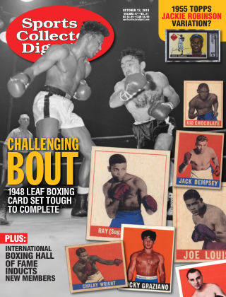 Sports Collectors Digest Oct 12 2018