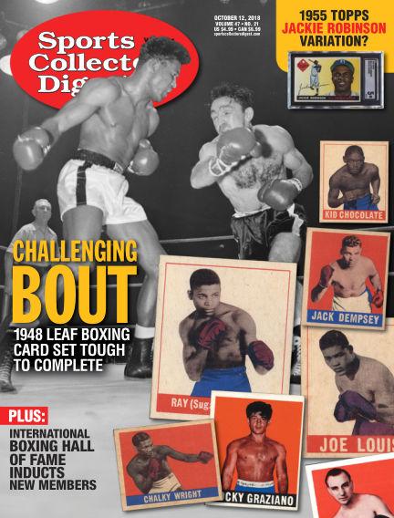 Sports Collectors Digest October 02, 2018 00:00