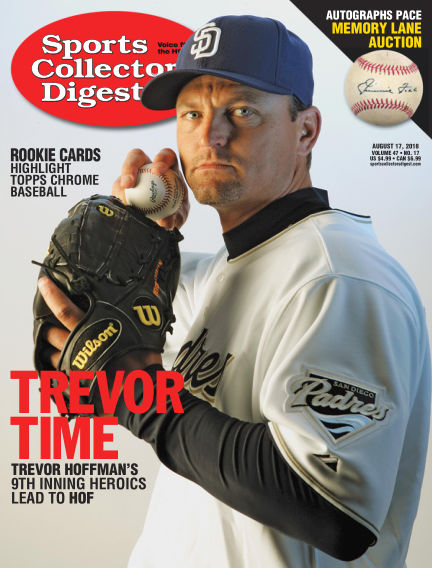 Sports Collectors Digest August 07, 2018 00:00
