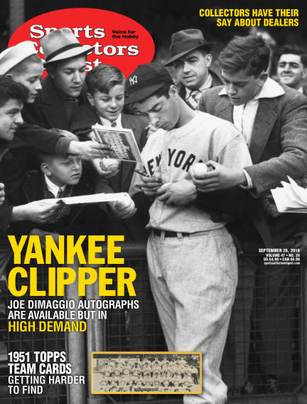Sports Collectors Digest September 18, 2018 00:00