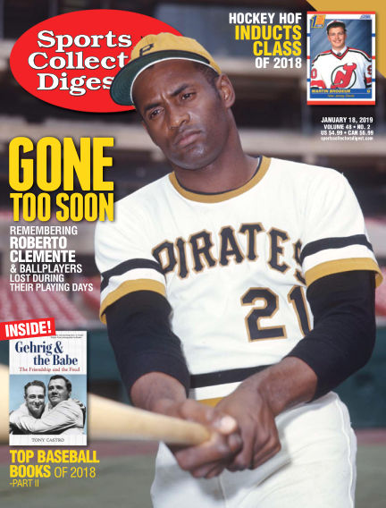 Sports Collectors Digest January 03, 2019 00:00