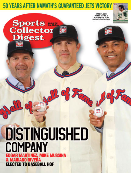 Sports Collectors Digest February 11, 2019 00:00