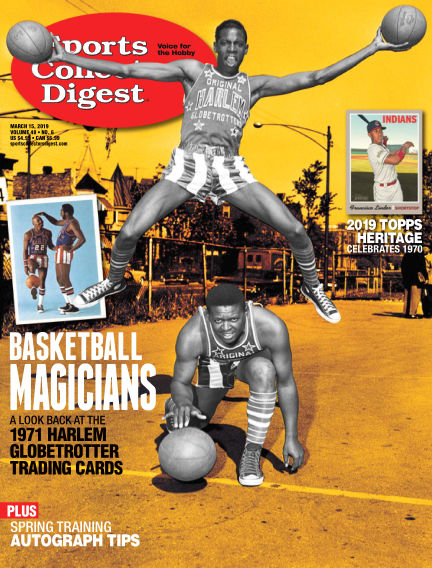 Sports Collectors Digest February 25, 2019 00:00