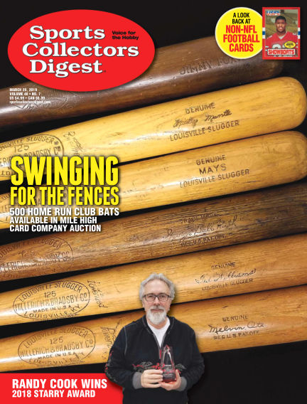 Sports Collectors Digest March 11, 2019 00:00