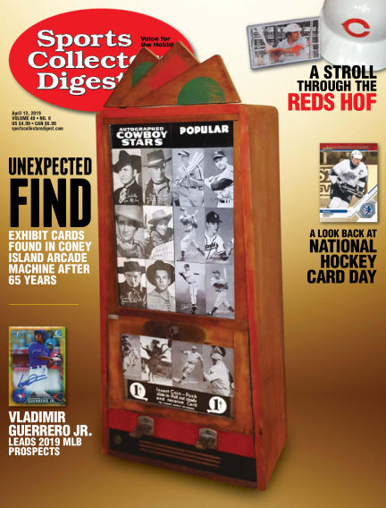 Sports Collectors Digest March 25, 2019 00:00