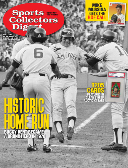 Sports Collectors Digest May 20, 2019 00:00