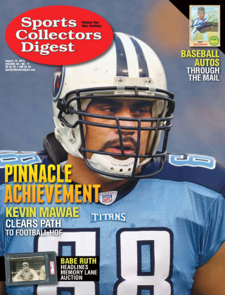 Sports Collectors Digest Aug 16 2019