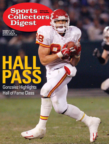 Sports Collectors Digest September 09, 2019 00:00