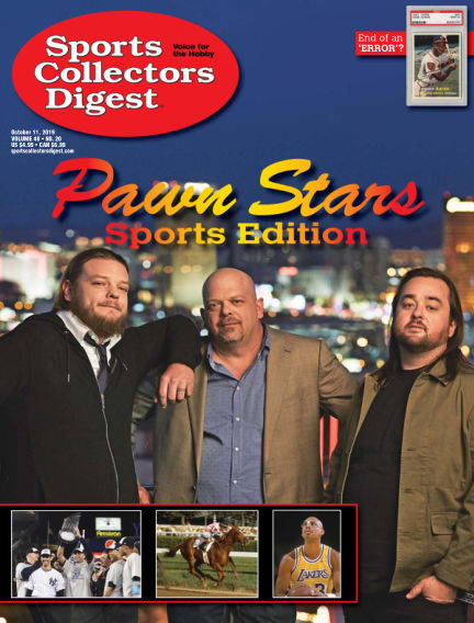 Sports Collectors Digest September 23, 2019 00:00