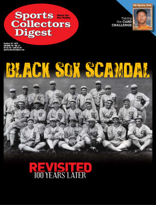 Sports Collectors Digest Oct 25 2019
