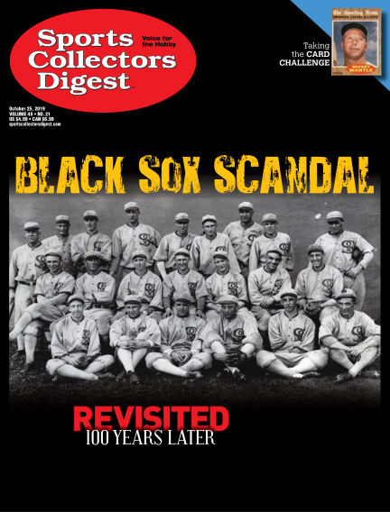 Sports Collectors Digest October 07, 2019 00:00
